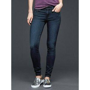 NEW Gap Legging Hybrid Skinny Dark Blue Jeans 27